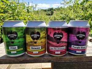 Mixed Cases of Cider Cans